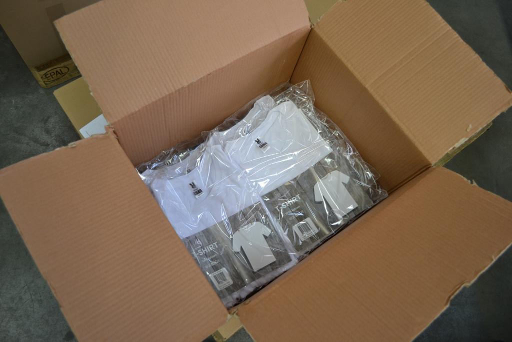 Producten ompakken
