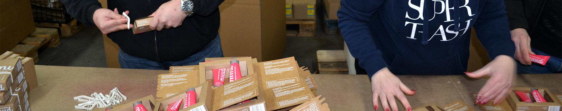 Handmatig ompakken